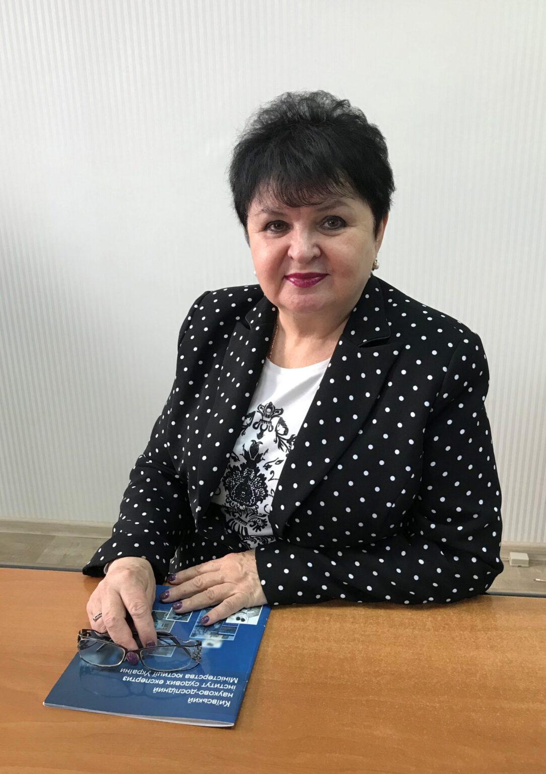 Антоніна Єфіменко, голова Черкасського відділення КНДІСЕ