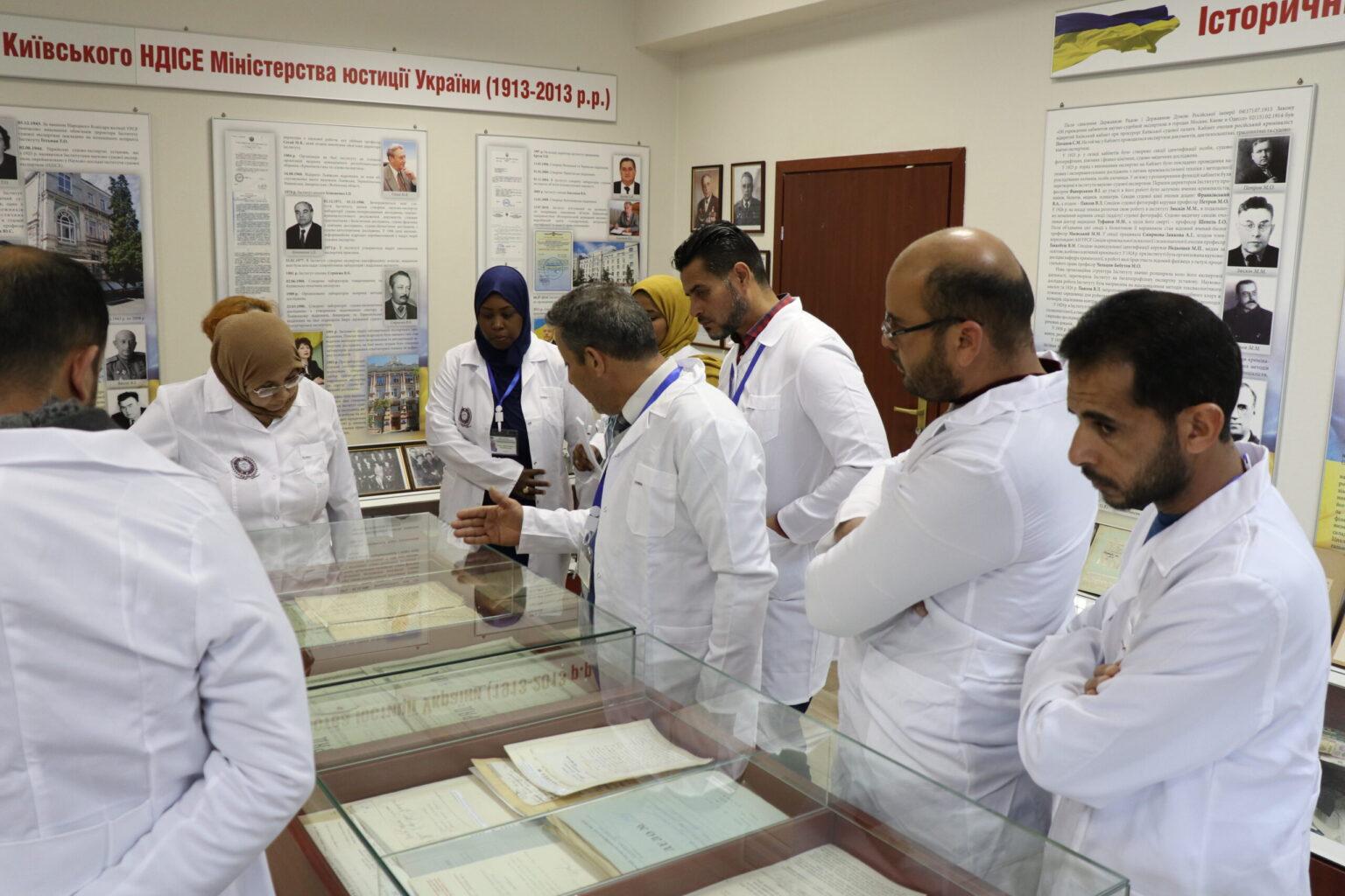 Експерти Київського НДІСЕ поділилися досвідом з колегами кримінальної поліції Лівії
