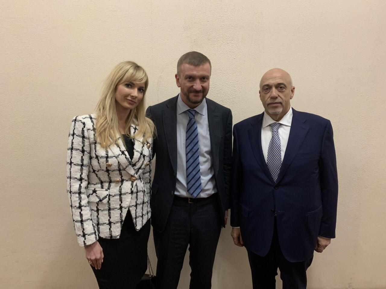 Наталія Нестор та Олександр Рувін