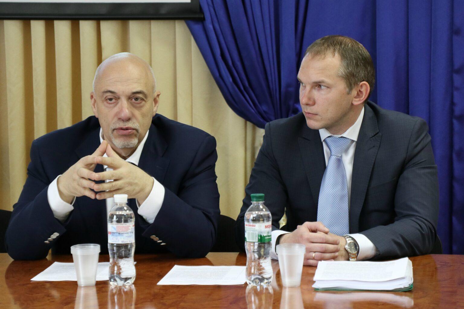 Олександр Рувін і Роман Пасько КНДІСЕ