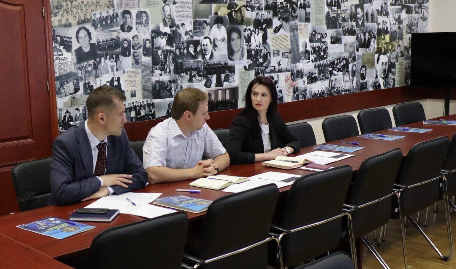 робоча зустріч фахівців Київського НДІСЕ та представників Національного агентства з питань запобігання корупції