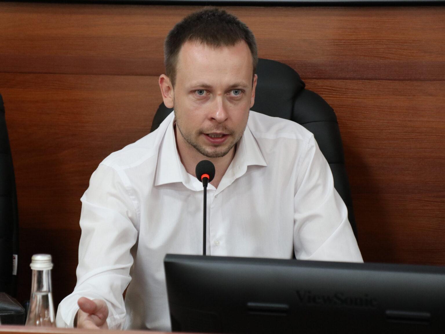 заступник Міністра юстиції України з питань виконавчої служби Андрій Гайченко