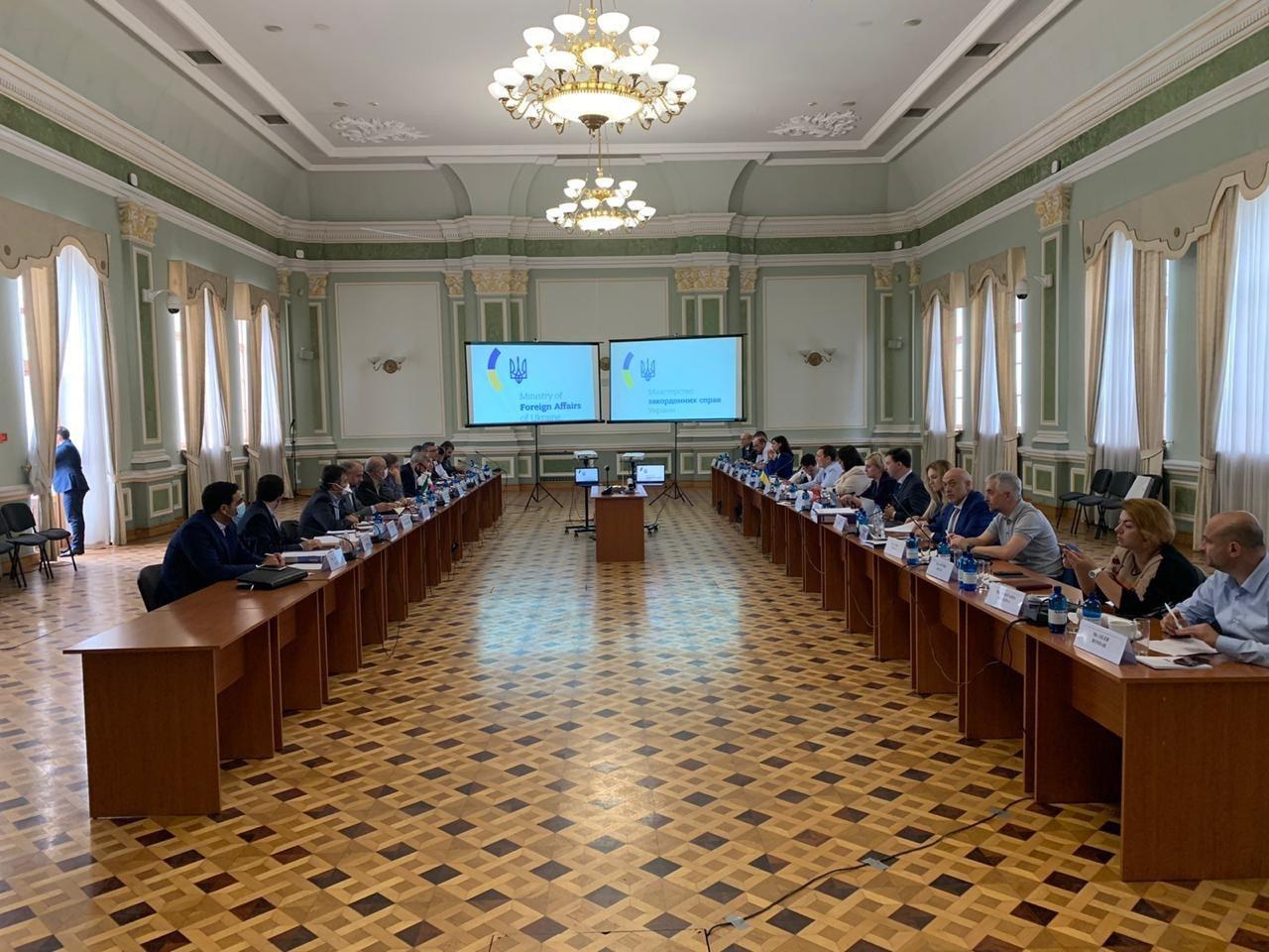 зустрічі делегацій України та Ірану щодо врегулювання питань, пов`язаних зі збиттям літака авіакомпанії МАУ рейсу PS752