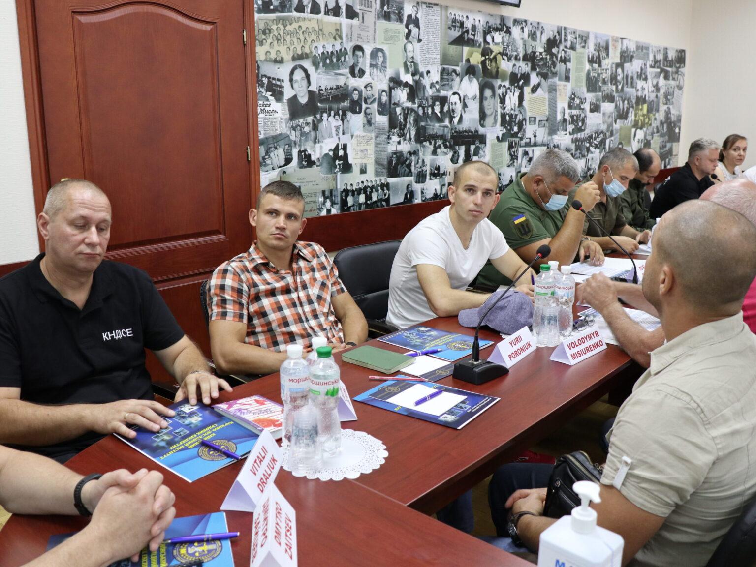 На базі Київського НДІСЕ проведено засідання українських та канадських експертів з питань протидії вибухонебезпечним загрозам