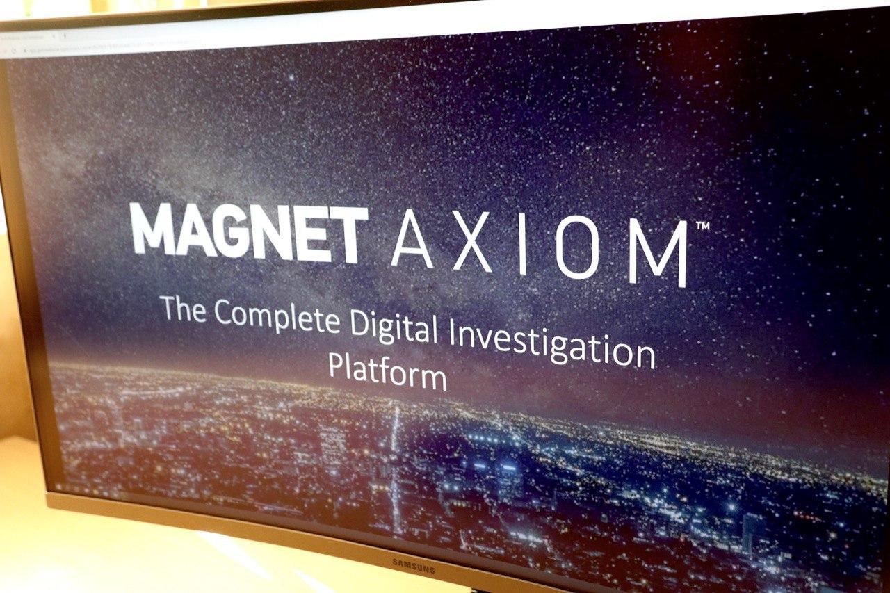 вебінарі «Demo: Investigating with Magnet AXIOM»