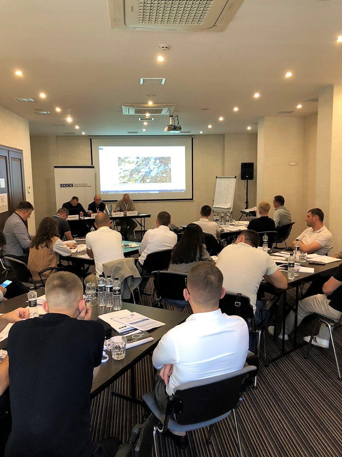 Експерт КНДІСЕ Олександр Шмерего взяв участь у тренінгу для співробітників слідчих та оперативних підрозділів Державного бюро розслідувань